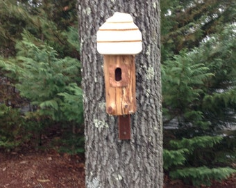 Rustic Cedar Bird House