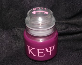 Kappa Epsilon Psi Candle