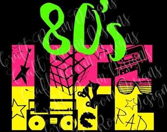 80's Life Digital Design