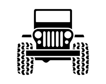 Jeep Sticker Etsy - Custom windo decals for jeeps