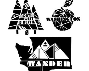 Washington Sticker Pack