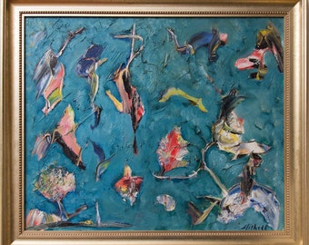 """Print of Bruce Mishell  """"The Birds"""""""