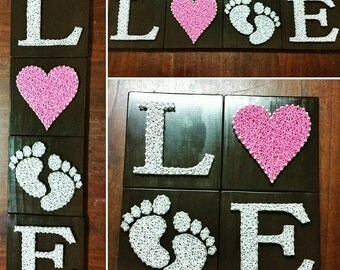 Love Baby Room sign for Baby gift or Shower
