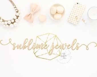 Business Logo, Photography Logo, Premade Logo, Logo Design, Jewelry Logo, Script Logo, Graphic Design