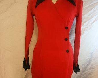VINTAGE 90's Secretary dress