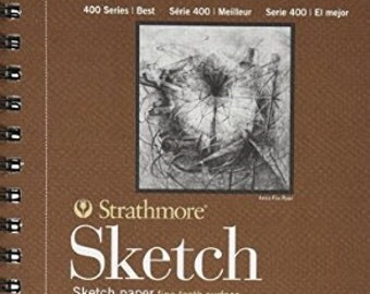 Strathmore 400 Series Sketch Pad 5.5x8.5 100 sheets