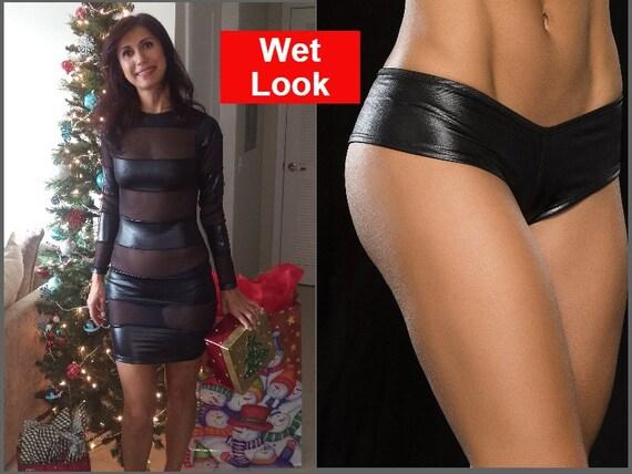 underwear thru Latex see
