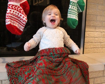 Holly Jolly Baby Blanket