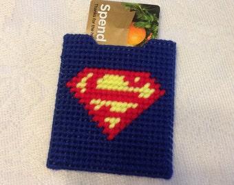 Superman Gift Card Holder