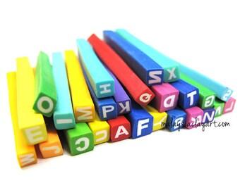 26 x Alphabet Polymer Clay Canes (A-Z)