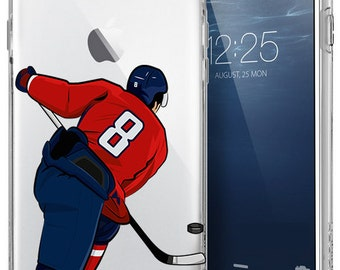 Alexander Ovechkin-Washington Capitals iPhone Case