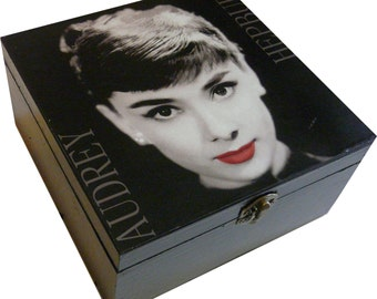 Audrey Hepburn Keepsake box