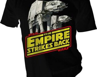 AT-AT Empire Strike Back T-Shirt Design