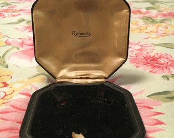 Vintage Krementz Jewelry Box