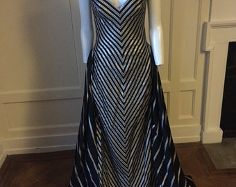 Bob Mackie 80s full length gown