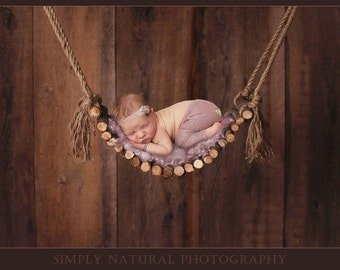 Digital Backdrops/Props (Twig Swing with Reclaimed Wood Backdrop, Cream Boards, Pink, Blue, Newborn Prop) Digital Download Includes 4 Files