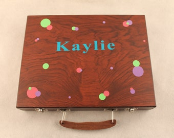 Personalized Art Box for Boy or Girl Any design