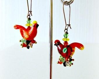 Earrings Cute Little Hens
