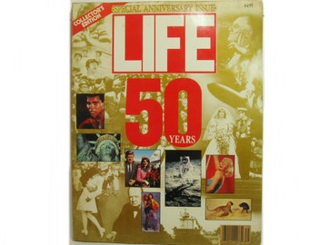 Special Anniversary Issue Life Magazine 50 Years Fall 1986