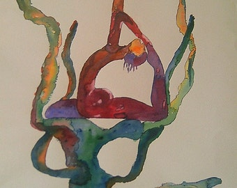 Watercolour body agreement number 8