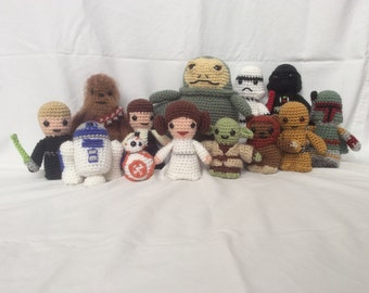 Crochet Star Wars amigurumi