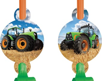 Tractor Time BLOWOUTS Farm Birthday Party Supplies Favors Rewards