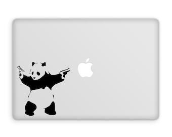 Banksy Decal - Bad Panda Decal, Banksy, Banksy Decals, Banksy Panda, Banksy Stickers