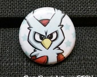 Pokemon Delibird Pin Button