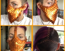 Scale Maille Face Mask