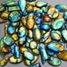 Natural Multifire LABRADORITE wholesale CABOCHON lot gemstone 500 carats top quality AAA+