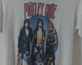 "Mötley Crüe ""Thearte Of Pain"" 1987 Shirt"
