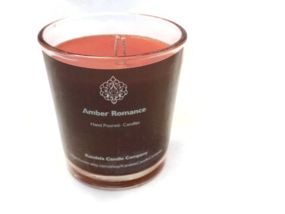 Amber Romance Scented Candle in 13 oz. Classic Tumbler