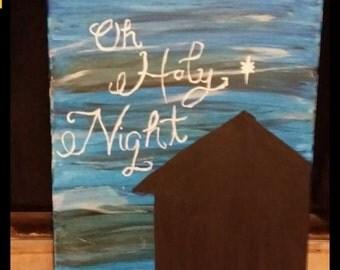 Holy night painting