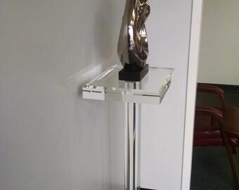 """2"""" Acrylic Art Pedestal"""