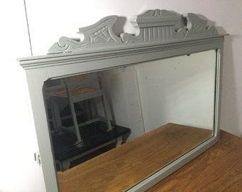 Vintage Shabby Chic Mirror - Farrow & Ball