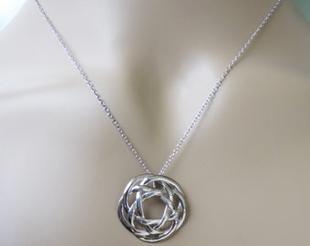 Sterling Silver Celtic Circle