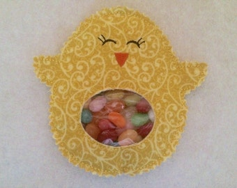 """Easter basket candy holder """"Cute Chick"""""""