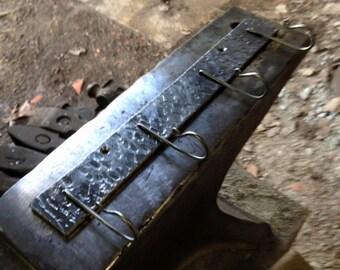 Forged key rack.