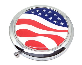 United States Pocket mirror makeup mirror mirrors double
