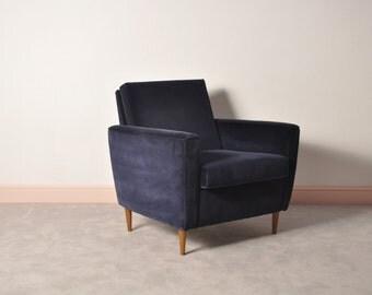 mid century lounge armchair