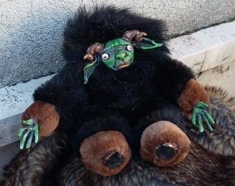 Greenli - Handmade OOAK Art doll