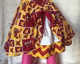 MN Gopers Ruffle Cheer Skirt - 5T