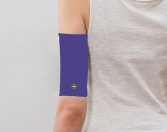 Care+Wear Ultra-Soft Antimicrobial PICC Line Cover, Violet