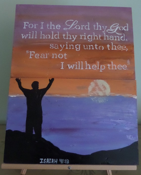 Items similar to For I the Lord thy God will hold thy ...