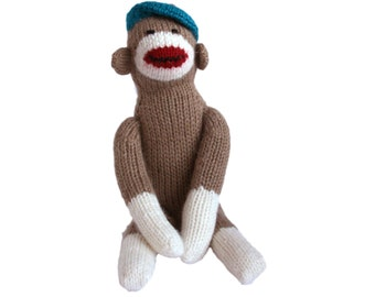 Sock Monkey in Beret