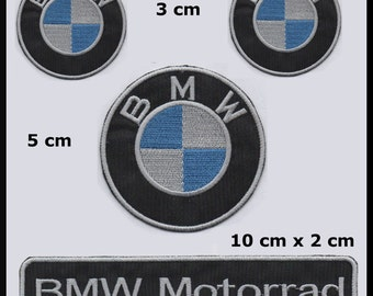 4 ecussons patches bmw  patch