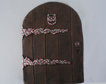 FAIRY SPARKLES - Large Door with lovely Rhinestones - Let Your Secret Friends In