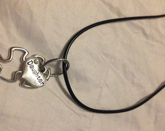 Autism daughter necklace