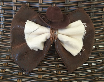 Indiana Jones Inspired Bow