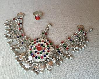 Kuchi Tribal Head-Piece & Ring